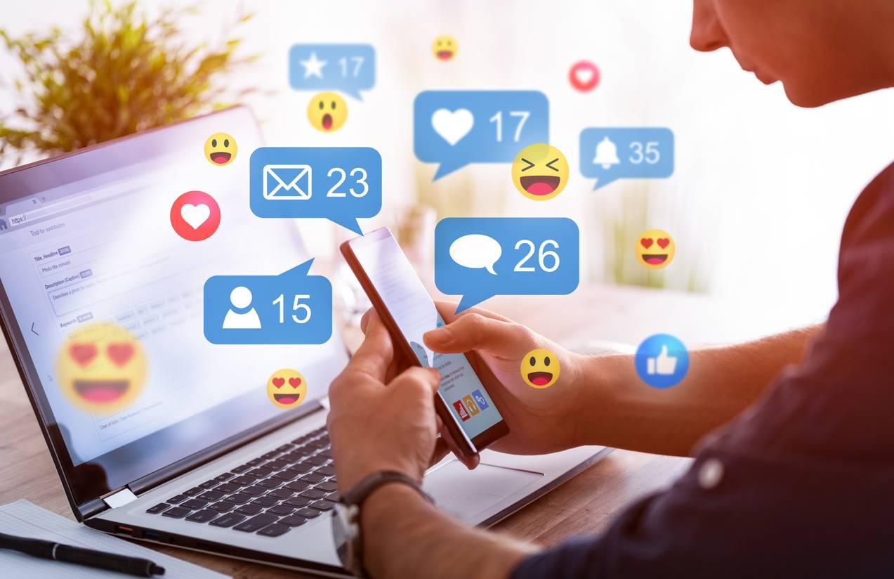 réseaux sociaux : quand les abonnes attirent les abonnés